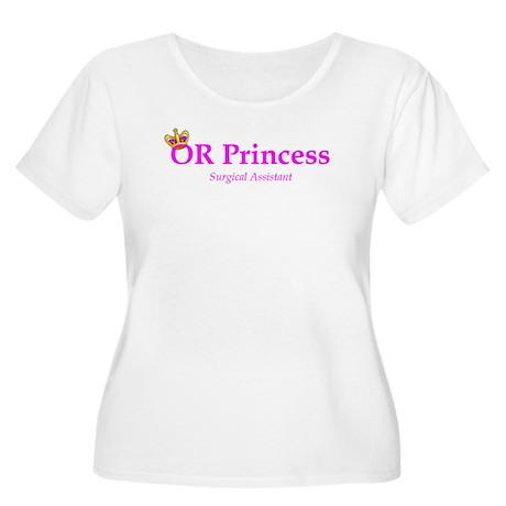 OR Princess SA Women's Plus Size Scoop Neck T-Shir