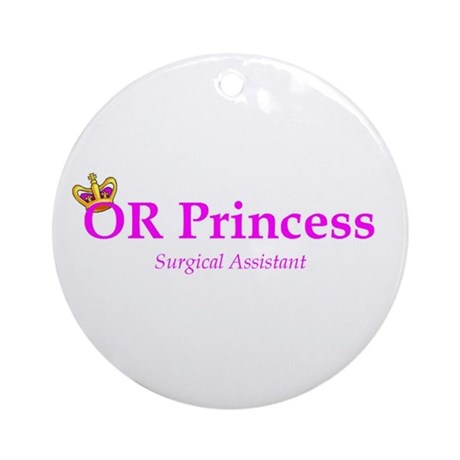 OR Princess SA Ornament (Round)