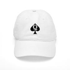 Q of Spades Baseball Cap