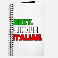"""Sexy. Single. Italian."" Journal"