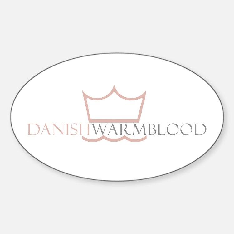Danish Warmblood Oval Decal