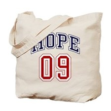 Barack Obama Hope 09 Tote Bag