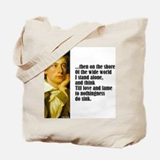 "Keats ""On the Shore"" Tote Bag"