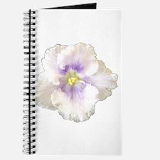 Berry Happy (white & purple) Journal