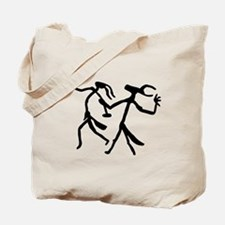 Wizards Dance-black and white Tote Bag