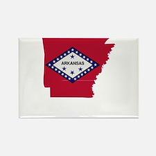 Arkansas Stripe Custom Design Rectangle Magnet