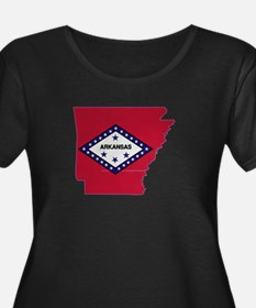 Arkansas Stripe Custom Design T