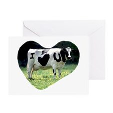 I Love You Cow Greeting Cards (Pk of 20)
