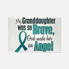 Angel 1 TEAL (Granddaughter) Rectangle Magnet