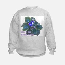 Gone to Pot African Violets Sweatshirt