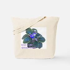Gone to Pot African Violets Tote Bag