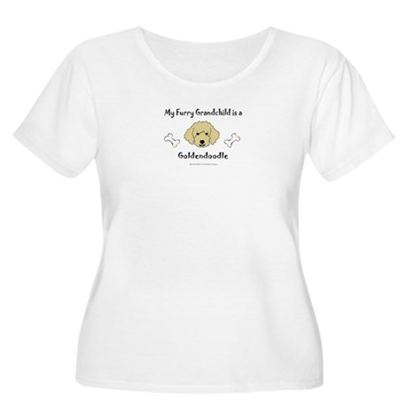 goldendoodle gifts Women's Plus Size Scoop Neck T-