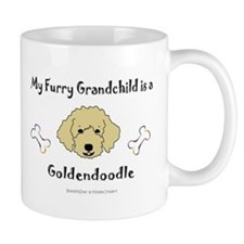 goldendoodle gifts Small Mug