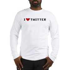 I Love Twitter Long Sleeve T-Shirt
