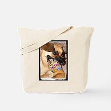 Puggle Peanut Butter Tote Bag