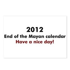 2012 Have a nice day Postcards (Package of 8)