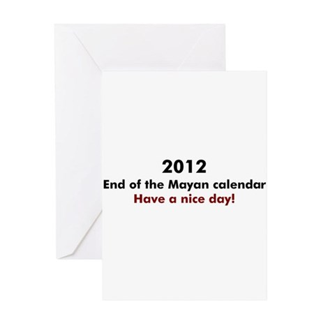 2012 Have a nice day Greeting Card