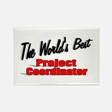 """""""The World's Best Project Coordinator"""" Rectangle M"""