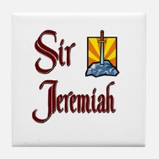 Sir Jeremiah Tile Coaster