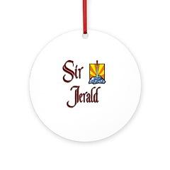 Sir Jerald Ornament (Round)