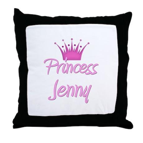 Princess Jenny Throw Pillow