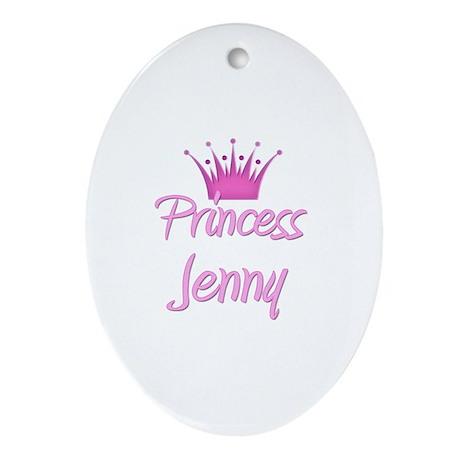 Princess Jenny Oval Ornament