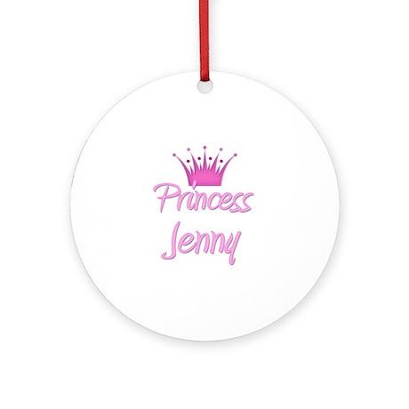 Princess Jenny Ornament (Round)