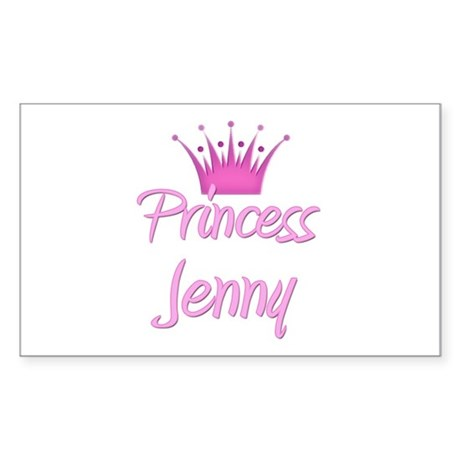 Princess Jenny Rectangle Sticker