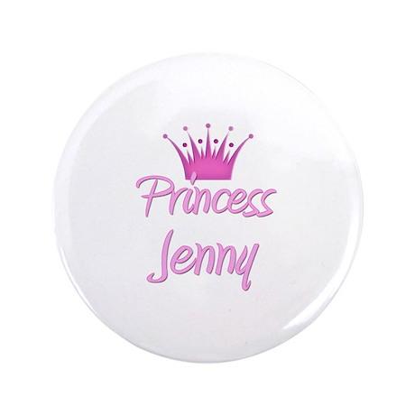 """Princess Jenny 3.5"""" Button"""