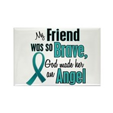 Angel 1 TEAL (Friend) Rectangle Magnet