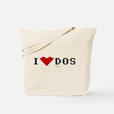 I Love Dos Tote Bag