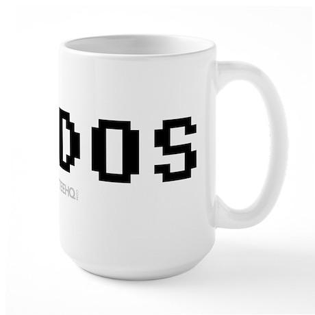 I Love Dos Large Mug
