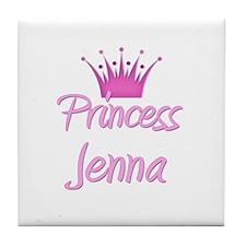 Princess Jenna Tile Coaster
