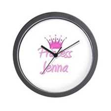 Princess Jenna Wall Clock