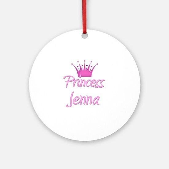 Princess Jenna Ornament (Round)