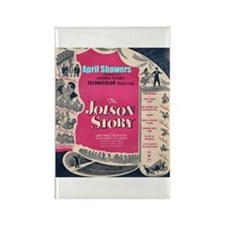 """""""The Jolson Story"""" Rectangle Magnet (10 pack)"""