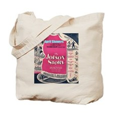 """""""The Jolson Story"""" Tote Bag"""
