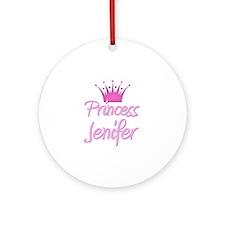 Princess Jenifer Ornament (Round)