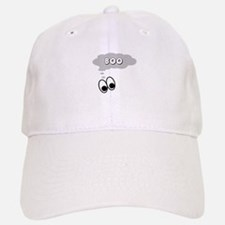 Ghost Eyes Boo Baseball Baseball Cap