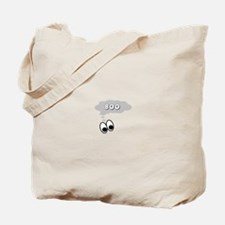 Ghost Eyes Boo Tote Bag
