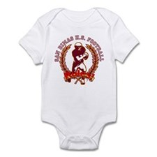San Dimas HS Football RULES! Infant Bodysuit
