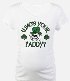 Who's Your Paddy Skull Shirt
