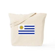 Cute Uruguay flag Tote Bag