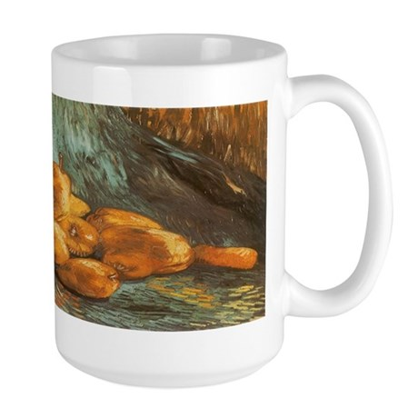 Van Gogh Still Life with Quince Pears Large Mug