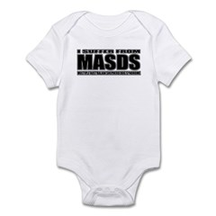 Australian Shepherd Dog Infant Bodysuit