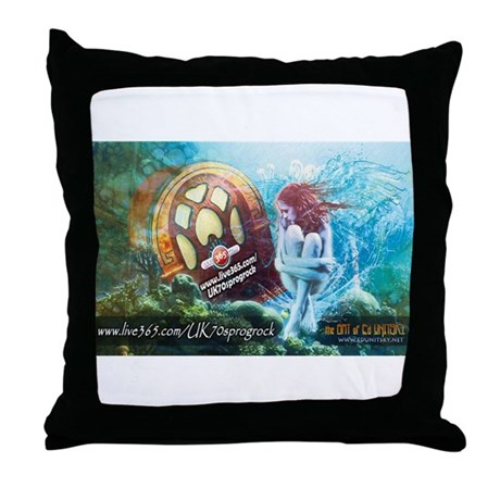 uk70sProgRock.com Throw Pillow
