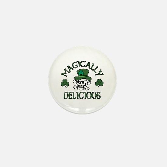 Magically Delicious Skull Mini Button