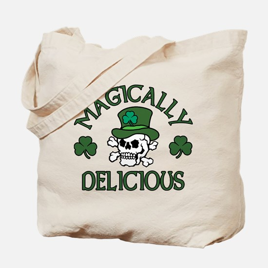 Magically Delicious Skull Tote Bag