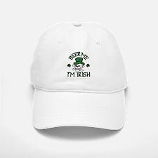 Beer Me I'm Irish Skull Baseball Baseball Cap