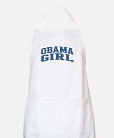 Obama Girl Nickname Collegiate Style BBQ Apron